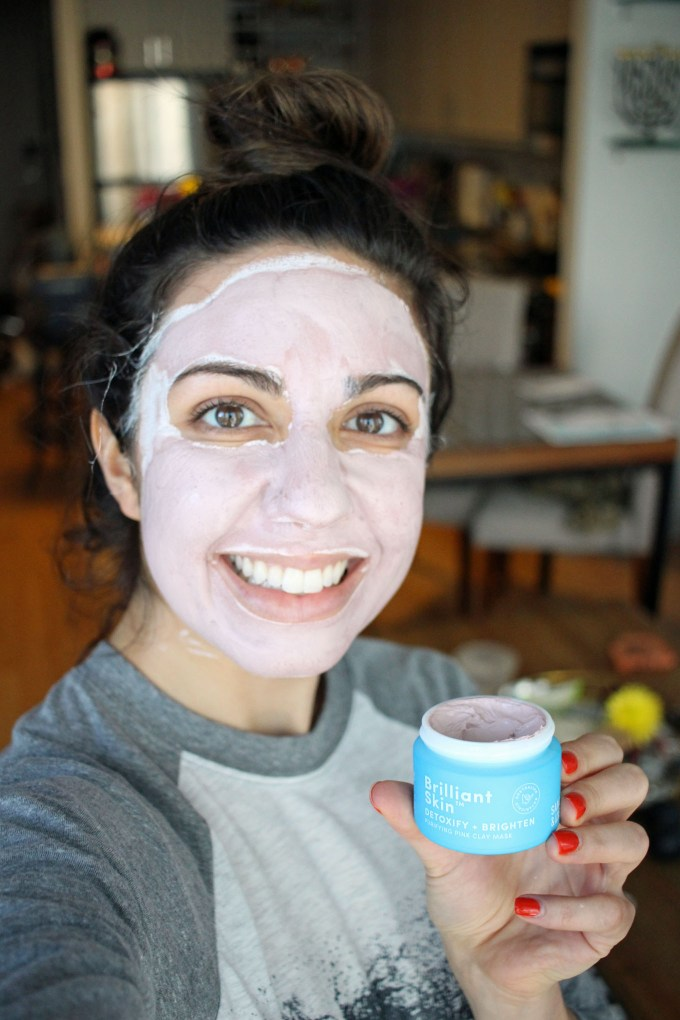 Lifestyle blogger Roxanne of Glass of Glam's Sand and Sky Pink Mask Review - Sand & Sky Australian Pink Clay Mask Review b y Dc beauty blogger Glass of Glam