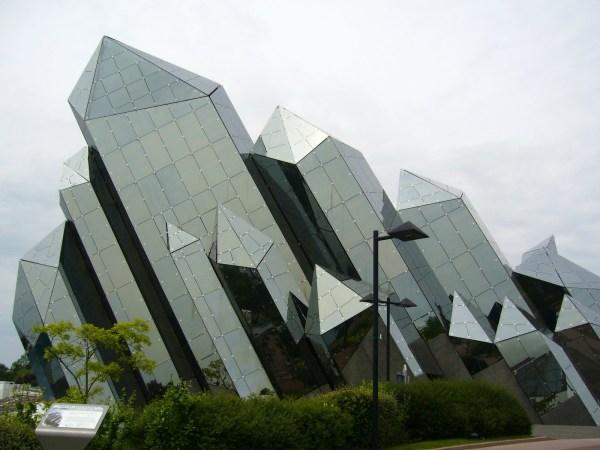Futuroscope Glass Architecture Wackiest