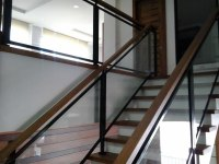 Glass Stair Railing | Glass Railings Philippines, Glass ...