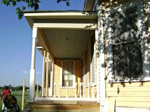 Reinstalling original railing