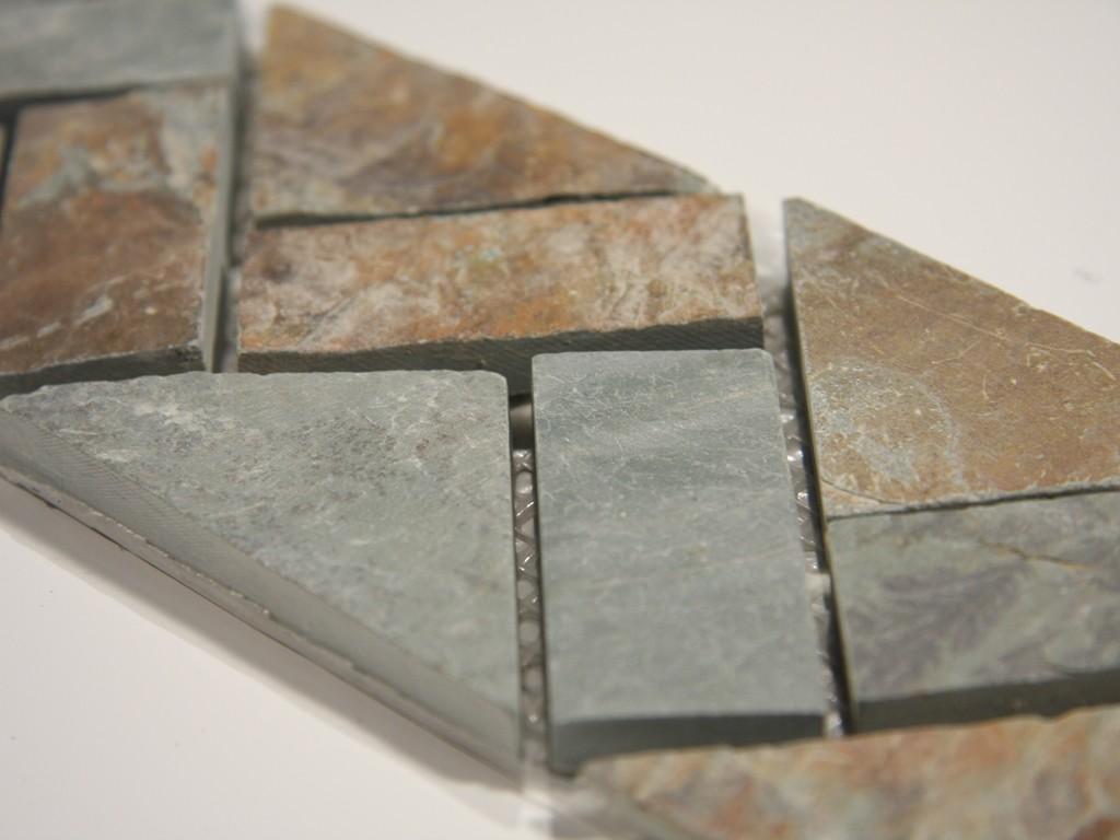 slate mosaic border 3x12