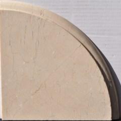 Crema Marfil Polished Shower Shelf 1