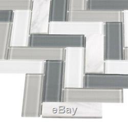 glass tiles wall