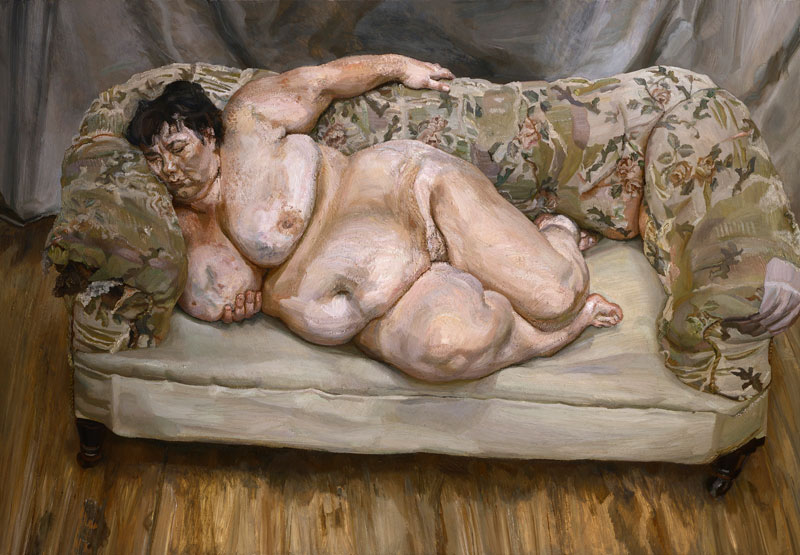 Lucian Freud Portraits at The Modern  Glasstire