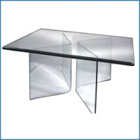 """10"""" Square Glass Table Tops by Glass Tops Direct"""