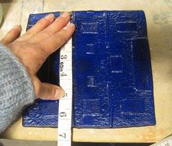 Measuring Blue Bottle after fusing