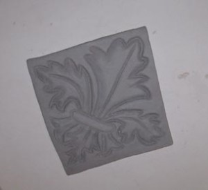 Greenware Texture Tile