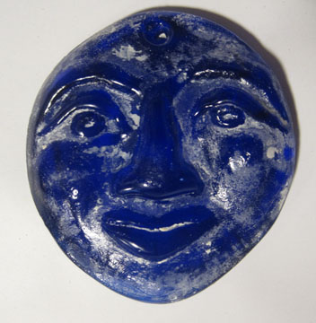 Recycled Glass face with Devit