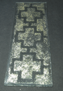 capped mica flakes ready to fuse