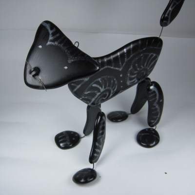 Fuse and Fold Black cat