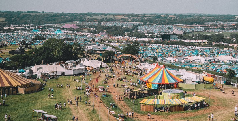 Where to camp at Glastonbury?