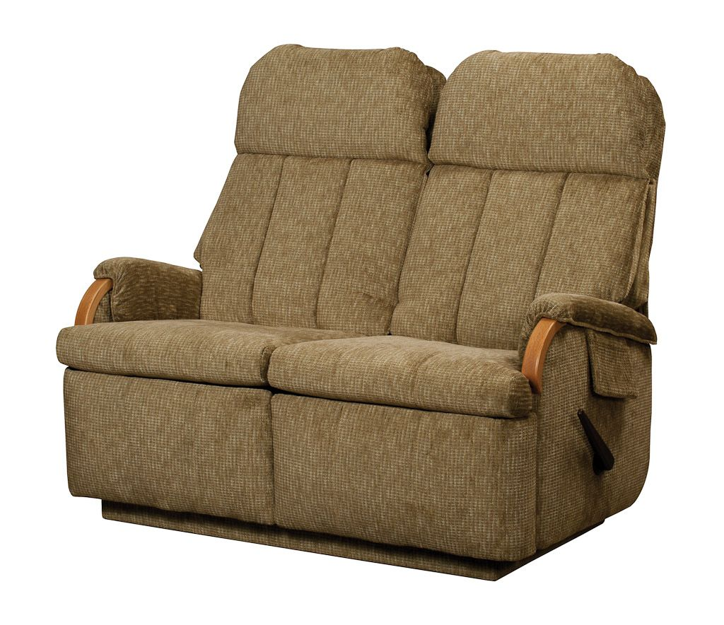 Double Wide Recliner Chair Lambright Relaxor Loveseat Recliner Glastop Inc