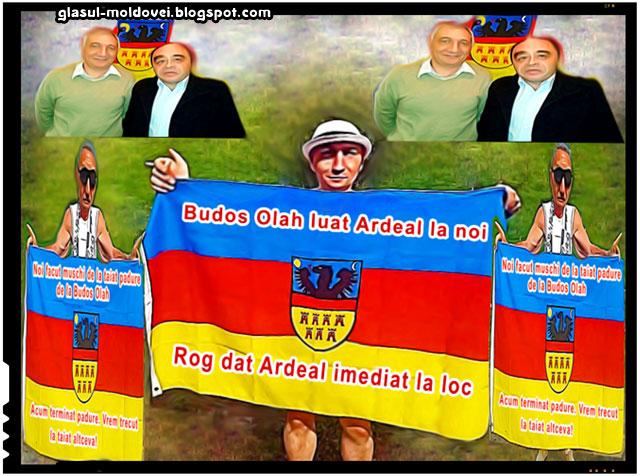 Budos Olah luat Ardeal la noi, rog dat Ardeal imediat la loc!