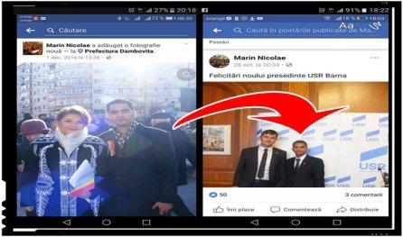 Intre PSD si USR via #Rezist, agentii dubli de pe scena politica din România, Foto: facebook.com/dogaru.andrei.587