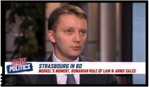 Dacă e trădare, cel puțin s-o știm și noi: Siegfried Mureșan și-a vorbit de rău țara la o televiziune străină!, Foto: Euronews / Raw Politics