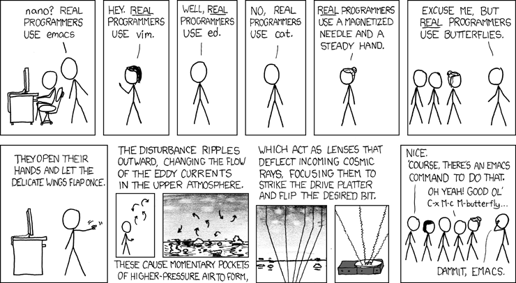 Real Programmers | xkcd.com