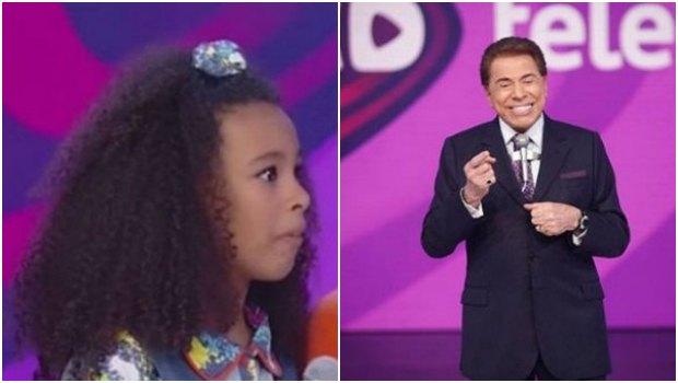 Atriz de 'Chiquititas' fica impressionada com comentário racista de Silvio Santos. Foto: Reprodução de TV