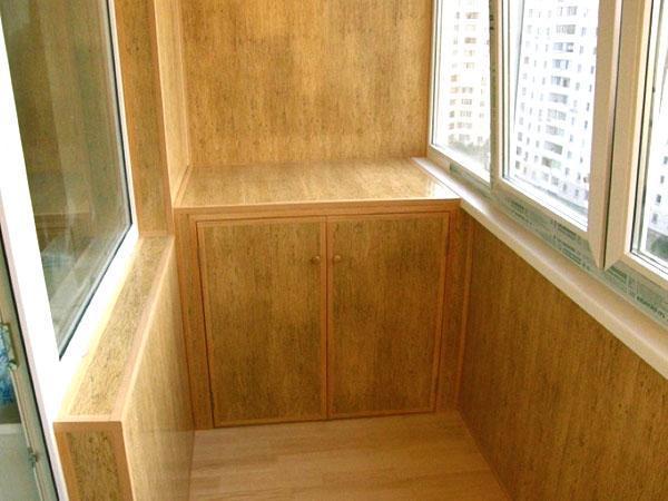 балкон вагонкой дизайн фото 5