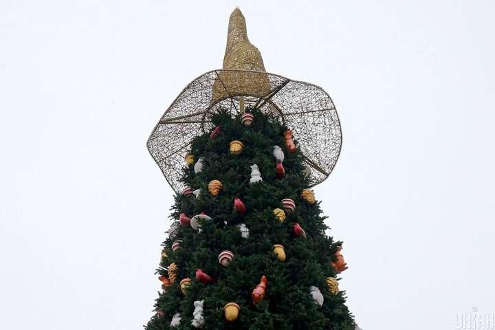 Шляпа на фоне тысячелетних крестов Софийского собора является неуместной, считает священник - В ПЦУ высказали недовольство «ведьминским» украшением главной елки Украины