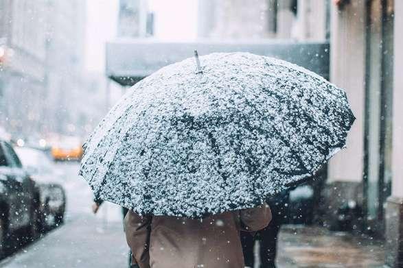 В западных областях местами туман, на остальной территории страны без осадков - В Украине потеплело, но идет снег в трех областях