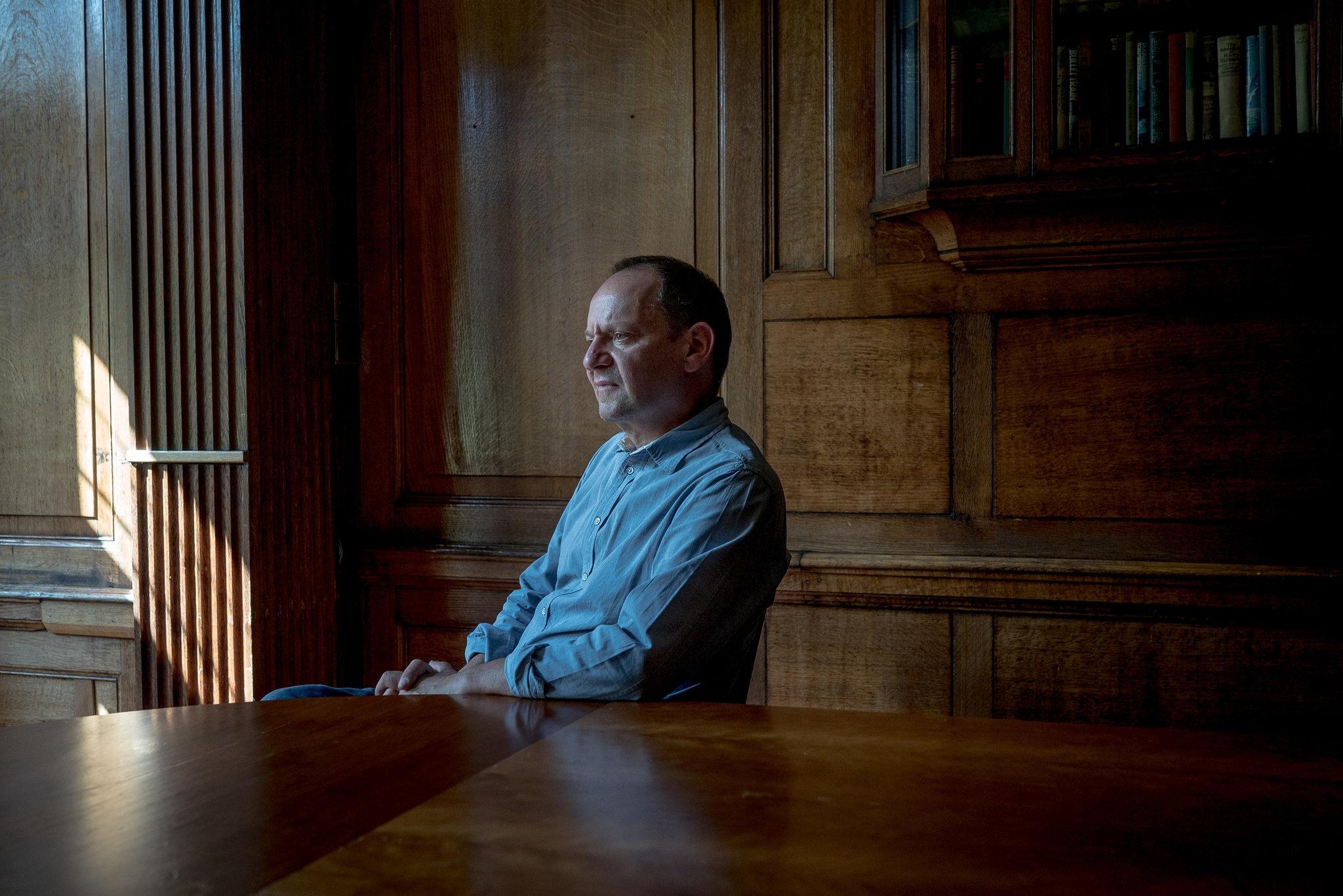 Філіпп Сандс (фото: Andrew Testa, The New York Times)