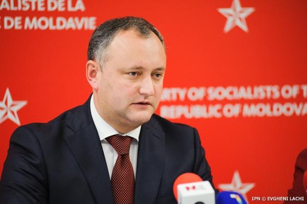 Ігор Додон отримав у першому турі 48% голосів