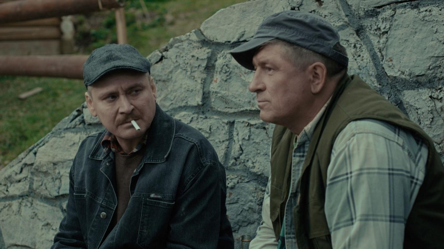 Віталій Лінецький та Микола Боклан. Кадр із кінофільму «Гніздо горлиці»