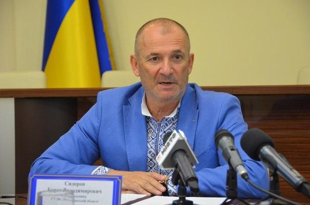 В.о. начальника Головного управління ДФС у Полтавській області Борис Сидоров