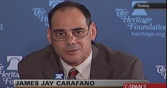 Провідний фахівець республіканців Джеймс Карафано: «Найважливіше питання для американської політики безпеки – це питання російської зовнішньої політики щодо Європи»