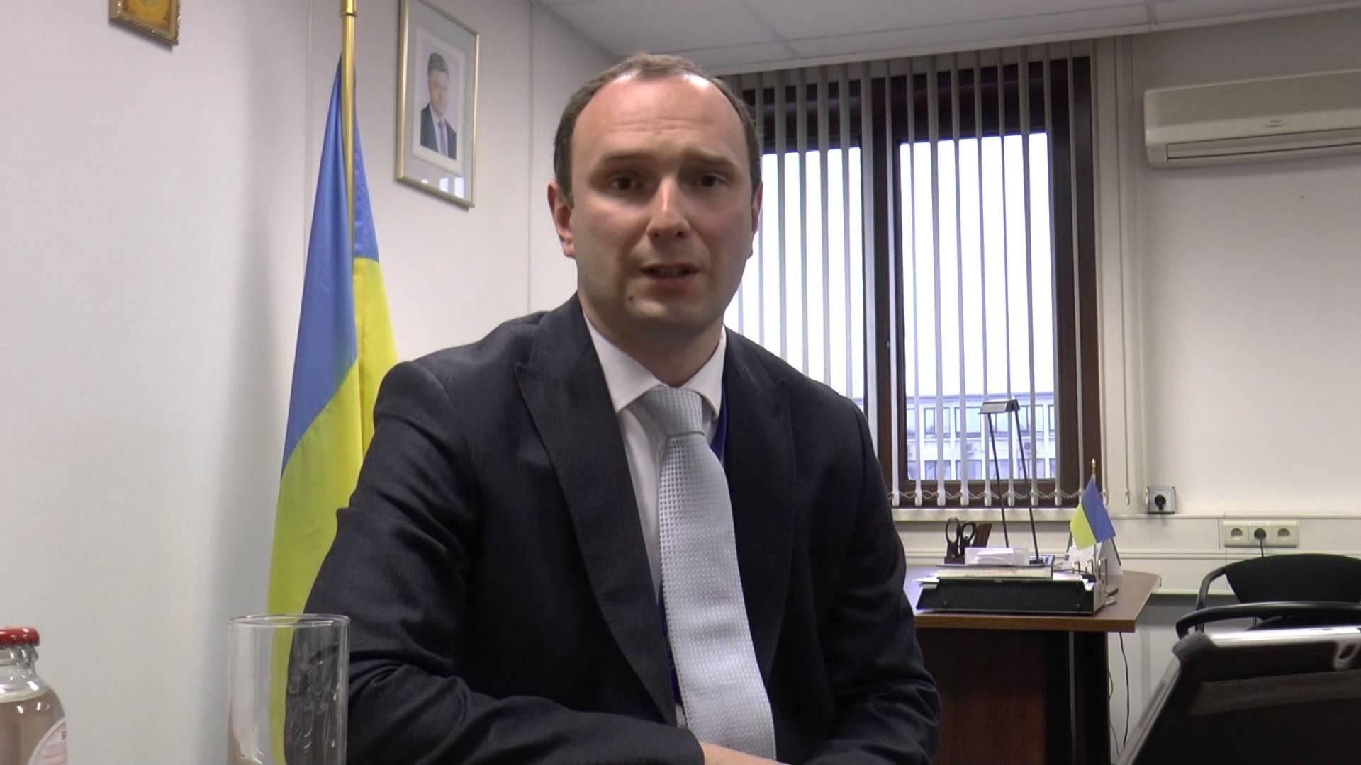 Виконуючий обов'язки голови місії України при НАТО Єгор Божок