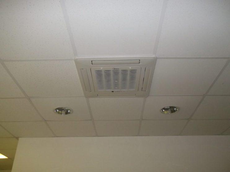 Система кондиционирования в потолке