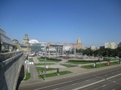 Москва. Вид на ТЦ