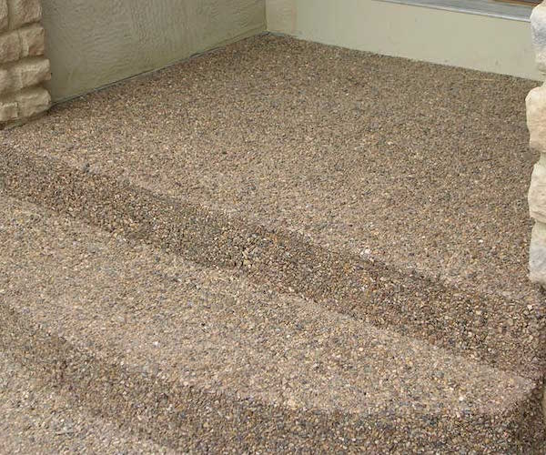 EXPOSED AGGREGATE  Glaze N Seal Products