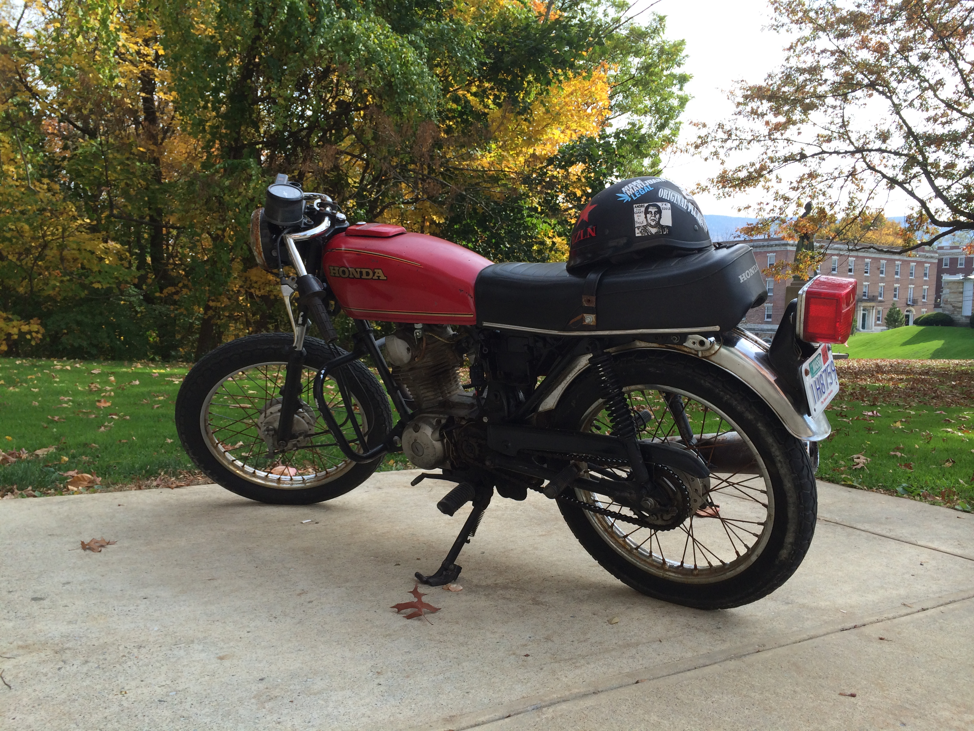 honda motorcycle wiring diagram xl100 plete 1972 vw beetle engine cb125s harness library everyone has a cb in their garage i do too runs well