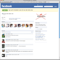 kill out dem battyman (gays) page on Facebook has been removed!