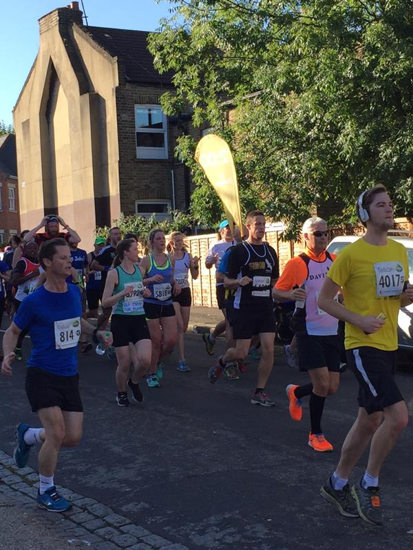 Ealing Half Marathon 2015 GL connects