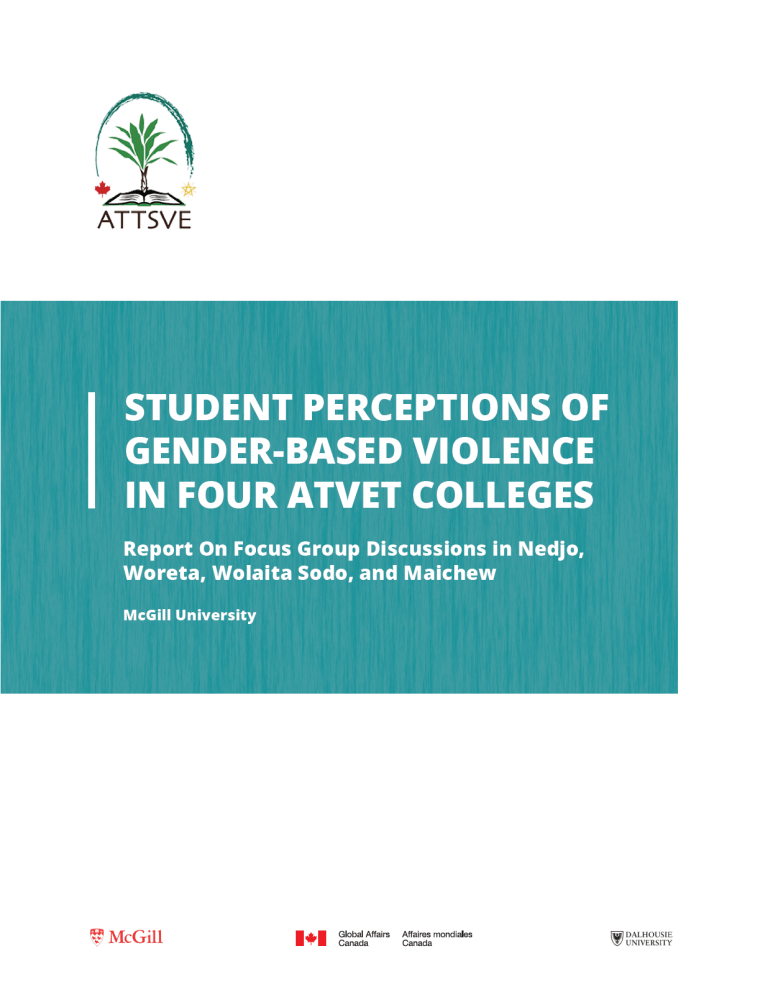 Student Perceptions of Gender-based Violence in Four ATVET Colleges