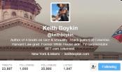 Keith Boykin Twitter Bio