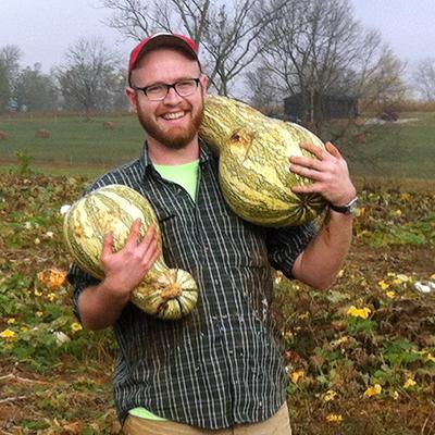gleaning squash