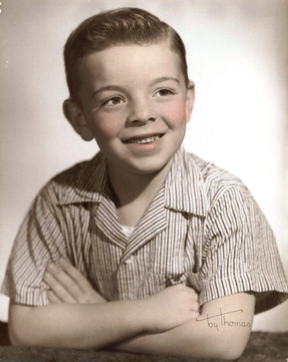 """""""Jimmy Mike"""" at an early age"""