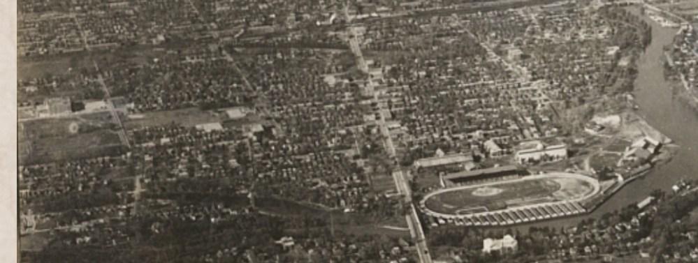 1922-1956 Aerial Photos of the Glebe (2/4)