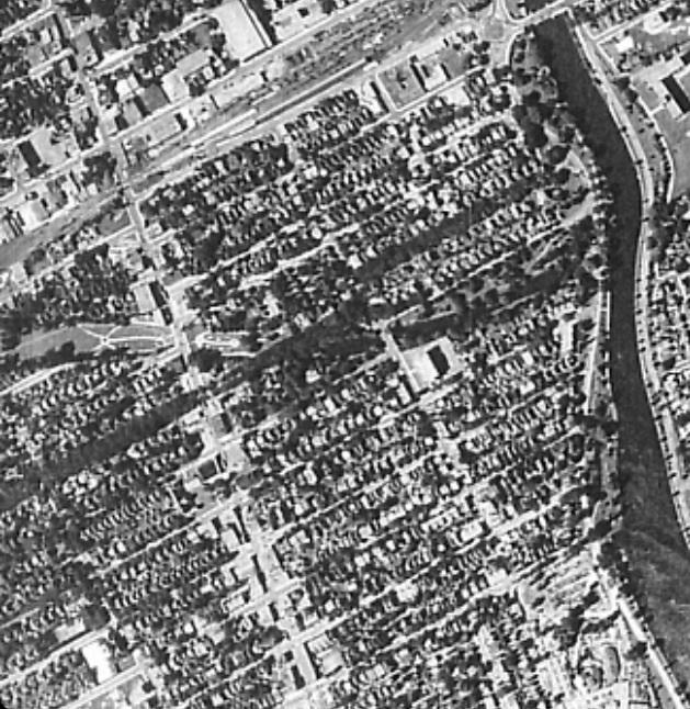 1922-1956 Aerial Photos of the Glebe (4/4)