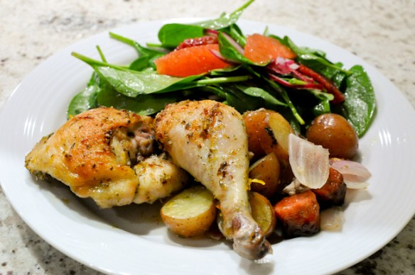 Chicken with Sausage and Potatoes