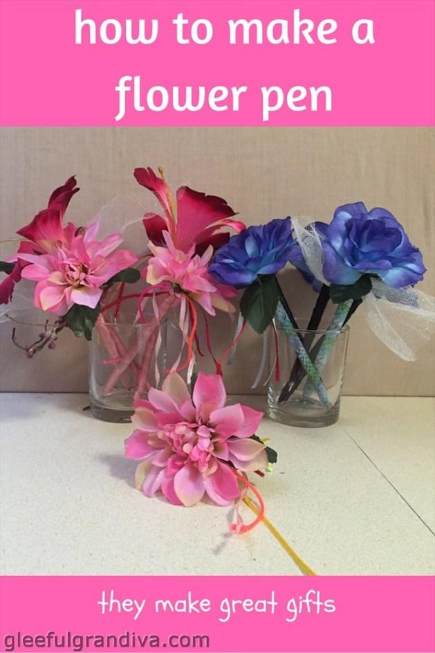 flower pen picture