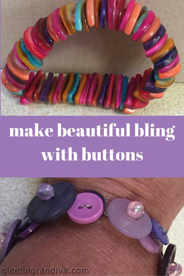 button bracelets picture