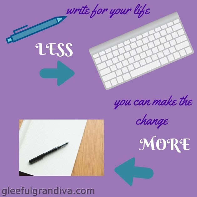 change your life with handwriting picture