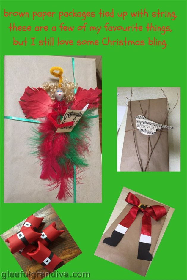 creative Christmas wrapping picture