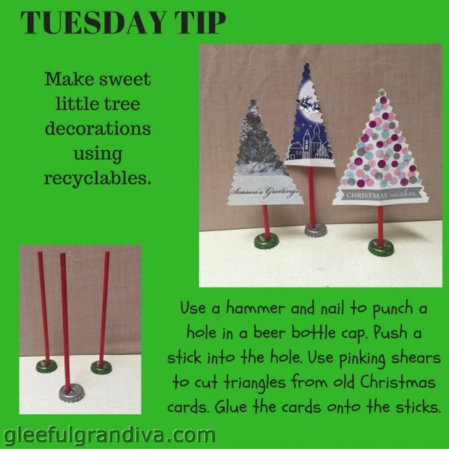 get creative with Christmas card crafts picture