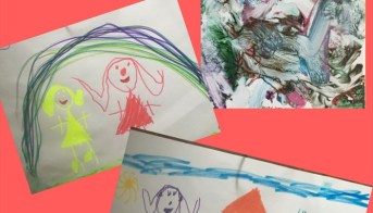7 Fun Ideas For Group Art Projects Gleeful Grandiva