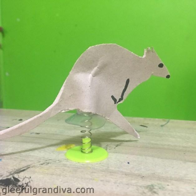 jumping kangaroo picture